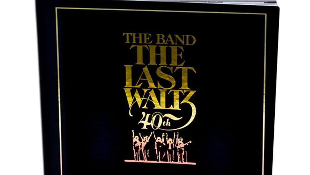 """Cover der """"40th Anniversary Edition"""" von """"The Last Waltz"""""""