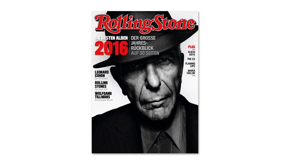 ROLLING STONE erinnert an den großen Leonard Cohen