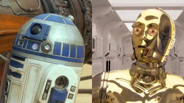 Unzertrennlich: R2-D2 und C-3PO