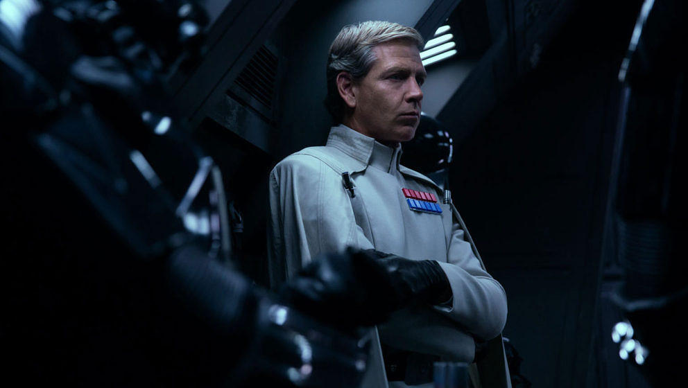 "Director Krennic in ""Rogue One: A Star Wars Story"""