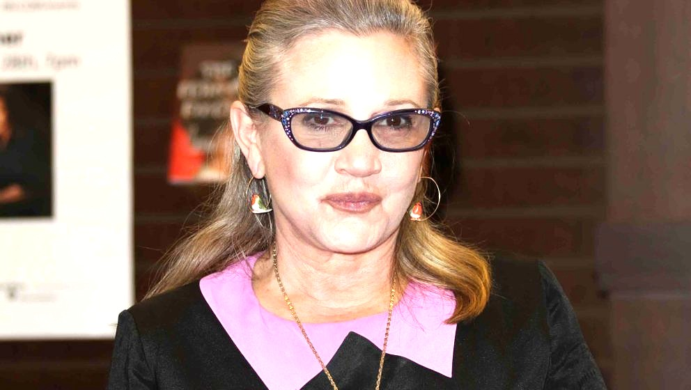 Carrie Fisher am 28. November 2016 in Los Angeles