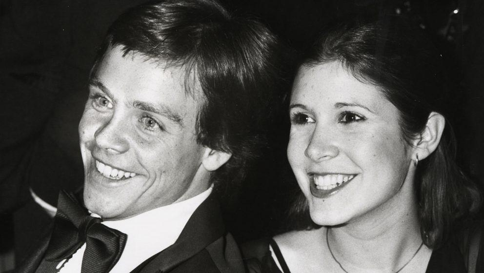 Mark Hamill and Carrie Fisher during American Film Institute 10th Anniversary at Kennedy Center in Washington DC, Maryland, U