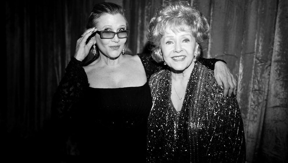 "Carrie Fisher (L) und Debbie Reynolds: HBO hat den Trailer von ""Bright Lights: Starring Carrie Fisher and Debbie Reynolds"" veröffentlicht."
