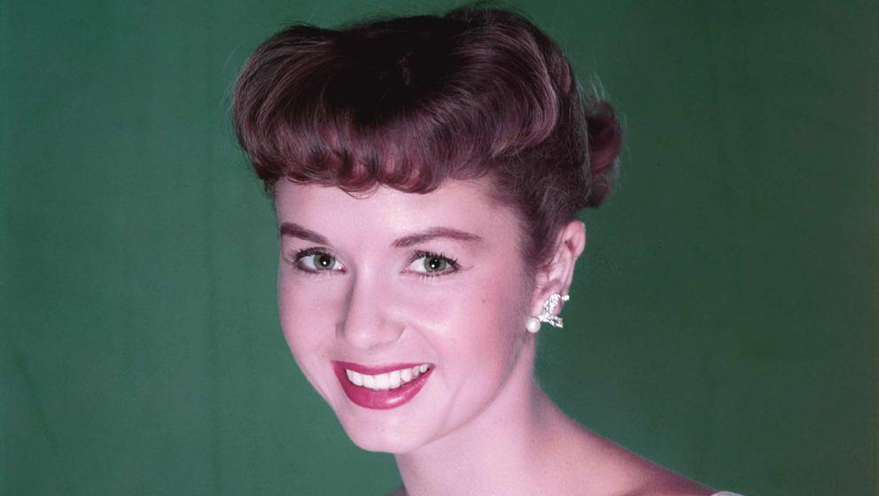 Debbie Reynolds - portraitiert im Jahr 1955