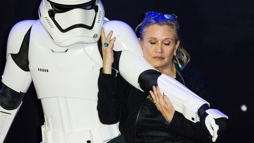 """Carrie Fisher wird auf ewig mit der """"Star Wars""""-Reihe verbunden sein"""