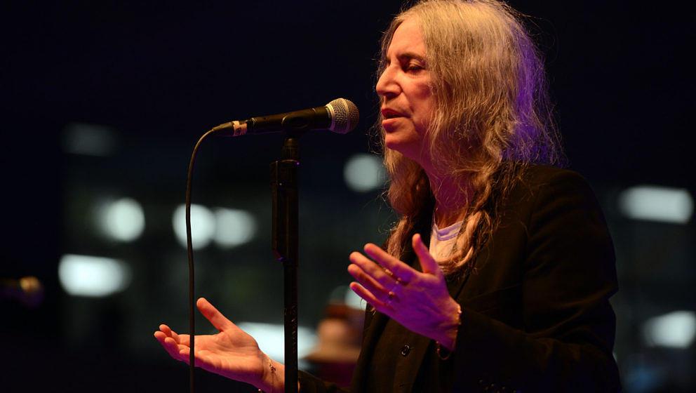 Patti Smith - live oft entrückt in eine andere Welt