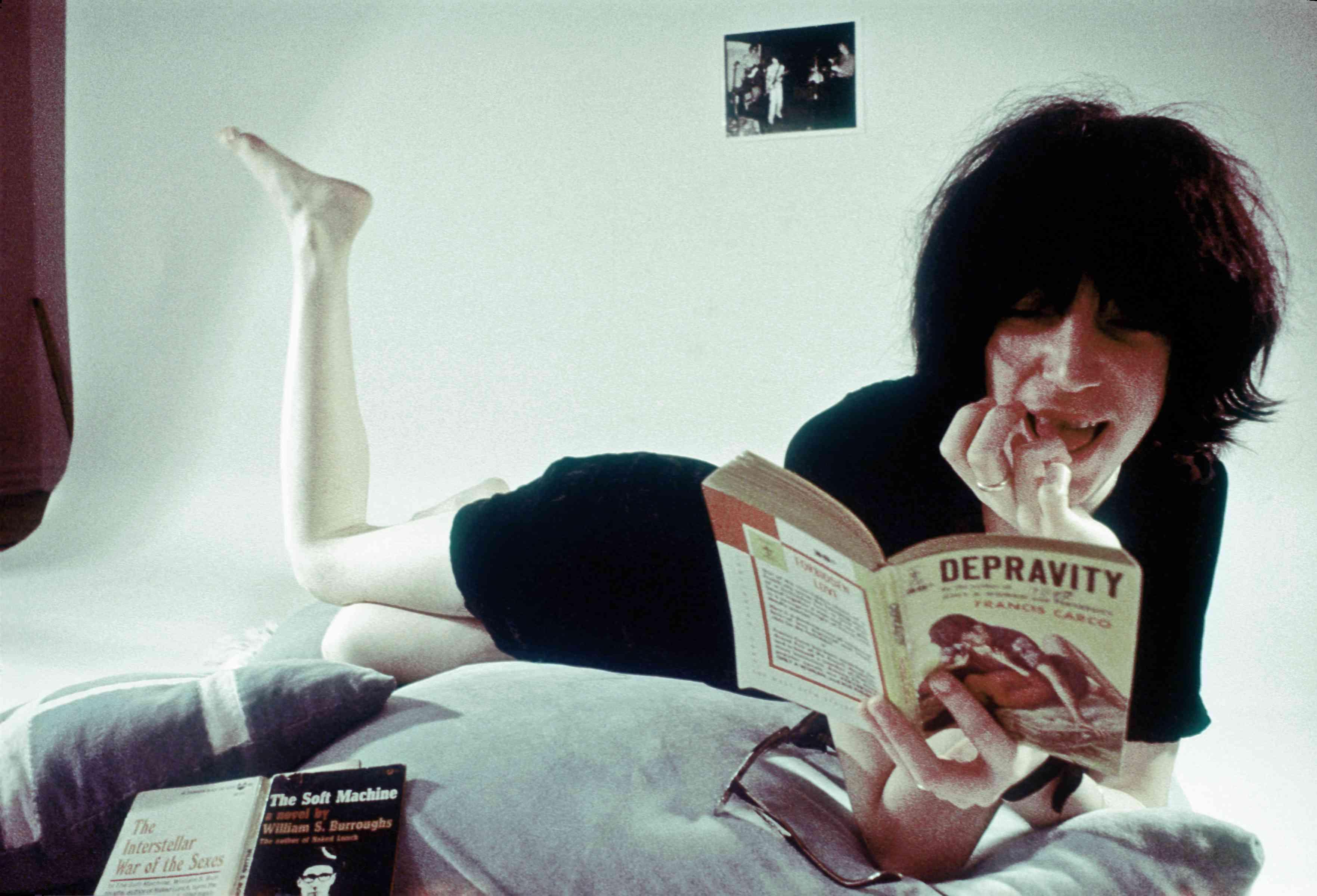 Patti Smith - leidenschaftliche Leserin