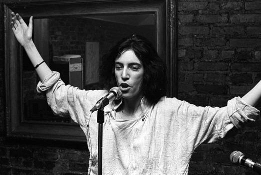 Patti Smith liest Gedichte in New York vor (1975)