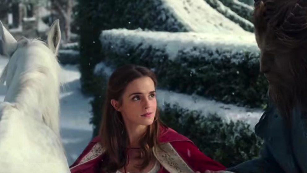 """Szene aus dem Trailer zu """"Die Schöne und das Biest"""" mit Emma Watson"""