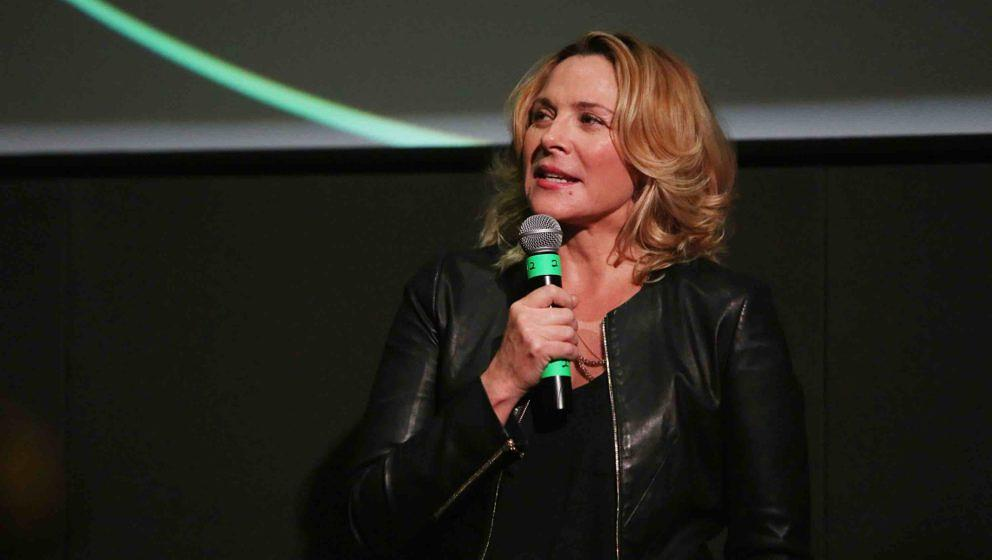 DENVER, CO - JUNE 23:  Kim Cattrall speaks at Sie FilmCenter during SeriesFest: Season Two on June 23, 2016 in Denver, Colora