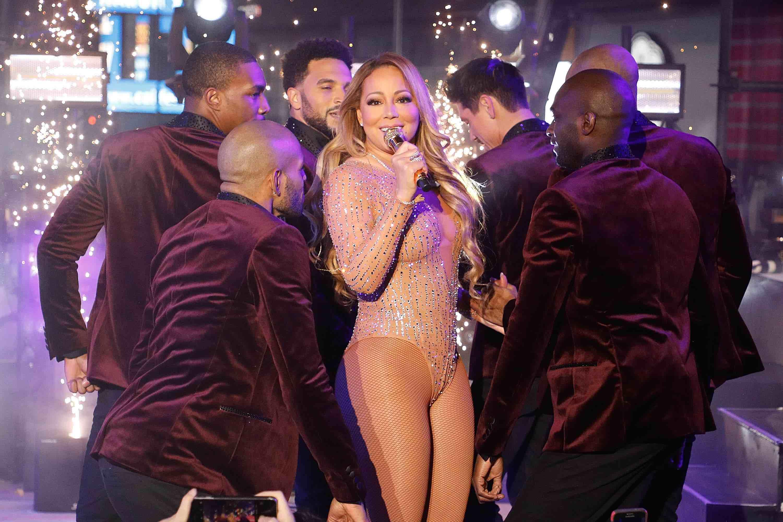 """An Heiligabend stellten die Weihnachtsklassiker """"All I Want For Christmas Is You"""" von Mariah Carey neue Rekorde beim Musik-Streaming auf."""