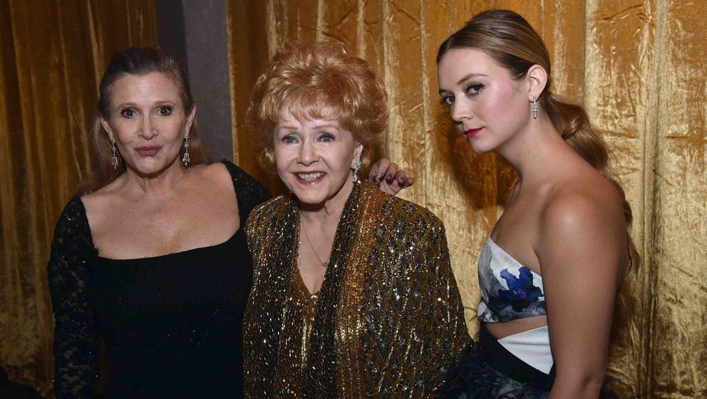 Drei Schauspielerinnen-Generationen: Debbie Reynolds, Carrie Fisher und Billie Lourd