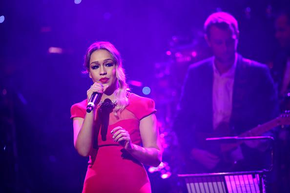 Die britische Sängerin Rebecca Ferguson tritt bei einem Auftritt im November 2016 in London. Für Donald Trump möchte sie nicht auftreten.