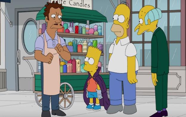 "Szene aus der ""Simpsons""-Folge ""The Great Phatsby"""