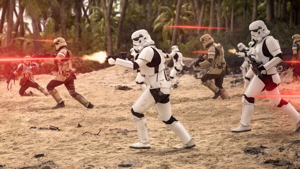 "Stormtrooper auf dem Schlachtfeld in ""Rogue One"""