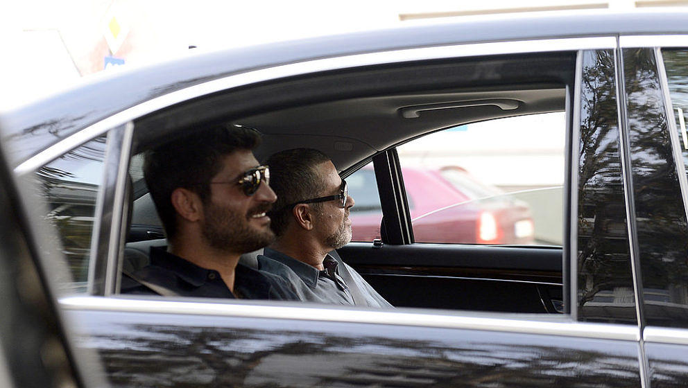 """Familie sorgt sich George Michaels Partner Fadi Fawaz: """"Im Moment machen wir uns alle Sorgen um ihn"""""""