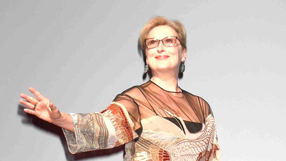 TOKYO, JAPAN - OCTOBER 25:  Meryl Streep attends the Tokyo International Film Festival 2016 Opening Ceremony at Ex Theater Ro