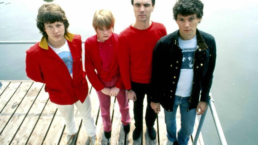 Die Talking Heads im Jahr 1977