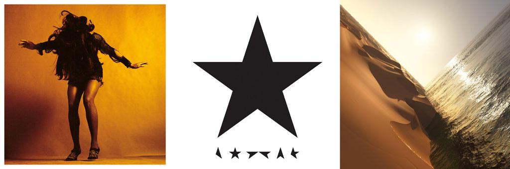 Die drei Gewinner des besten Album-Covers 2016
