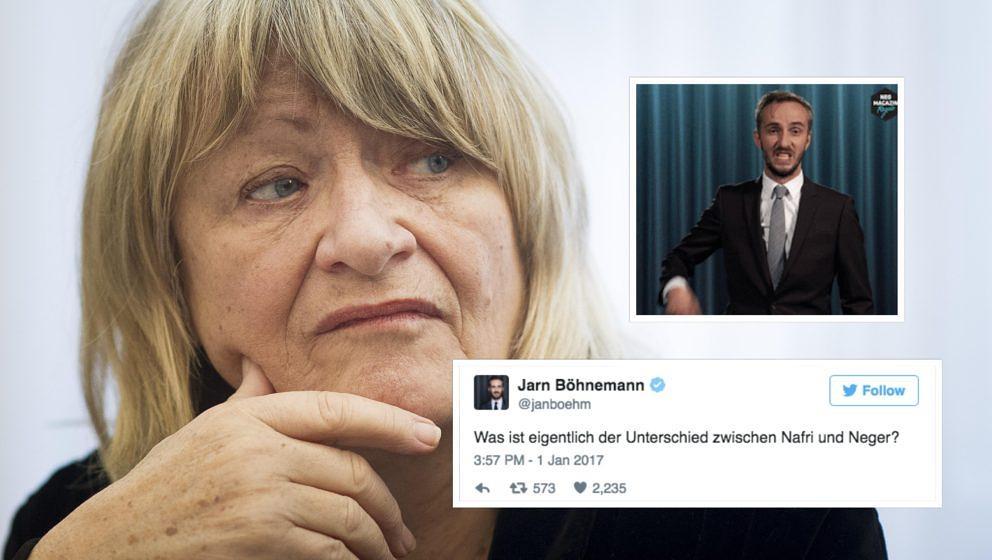 Alice Schwarzer findet Jan Böhmermann anscheinend nicht so witzig