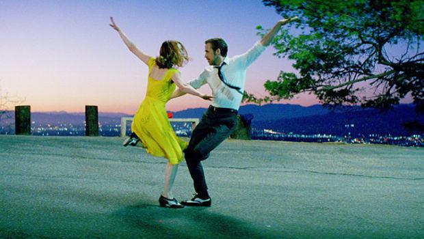 "Szene aus ""La La Land"" mit Ryan Gosling und Emma Stone"