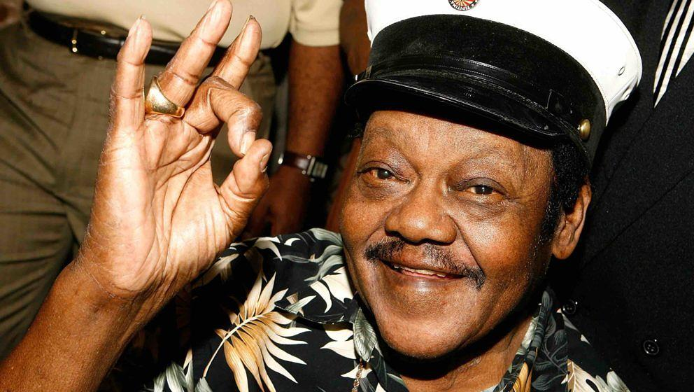 Musician Fats Domino attends the Tipitina's Foundation premiere of 'Fats Domino: Walkin' Back to New Orleans' at Tipitina's U