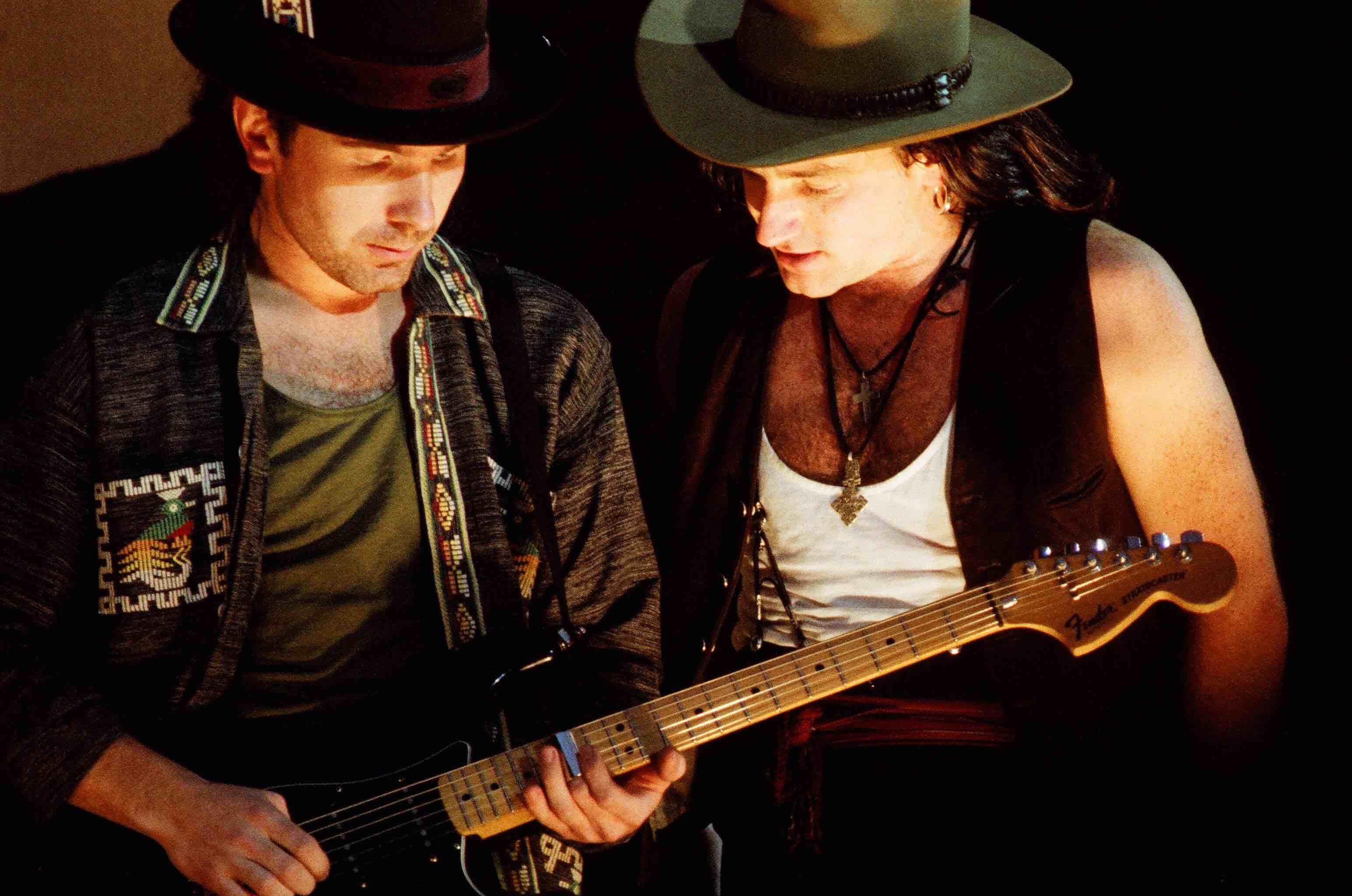 Bono und The Edge 1987