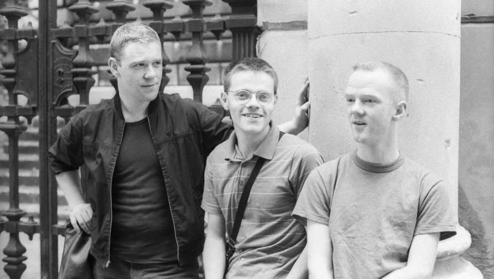 Bronski Beat mit Jimmy Somerville, Steve Bronski und dem am verstorbenen Larry Steinbachek