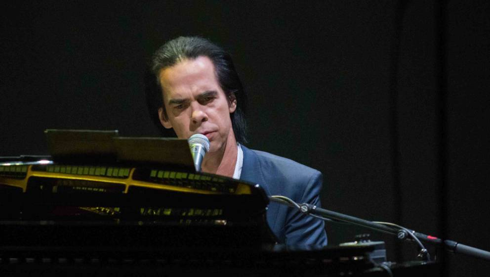 Nick Cave am Klavier