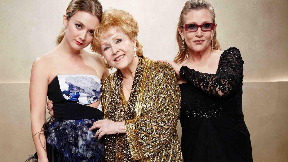 Billie Lourd, Carrie Fisher und Debbie Reynolds