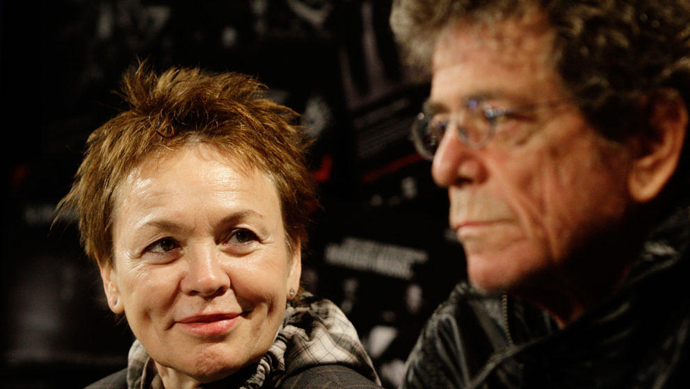 Laurie Anderson und Lou Reed