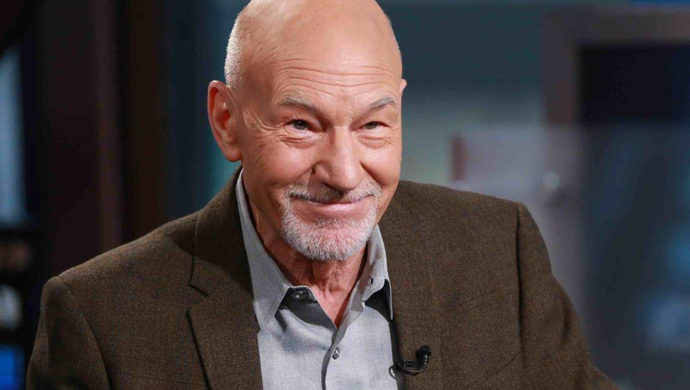 SQUAWK BOX -- Pictured: Film, television and stage actor Patrick Stewart in an interview on August 21, 2015 -- (Photo by: Kat