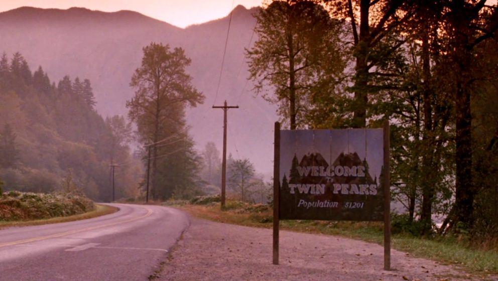 Twin Peaks Vorspann Schild