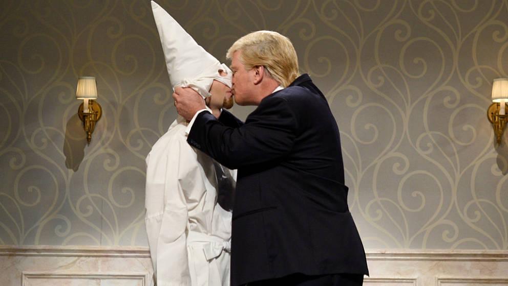 Via Twitter gratulierte der ehemalige Kopf des Ku-Klux-Klans David Duke dem neuen Präsidenten Donald Trump zur Vereidigung.