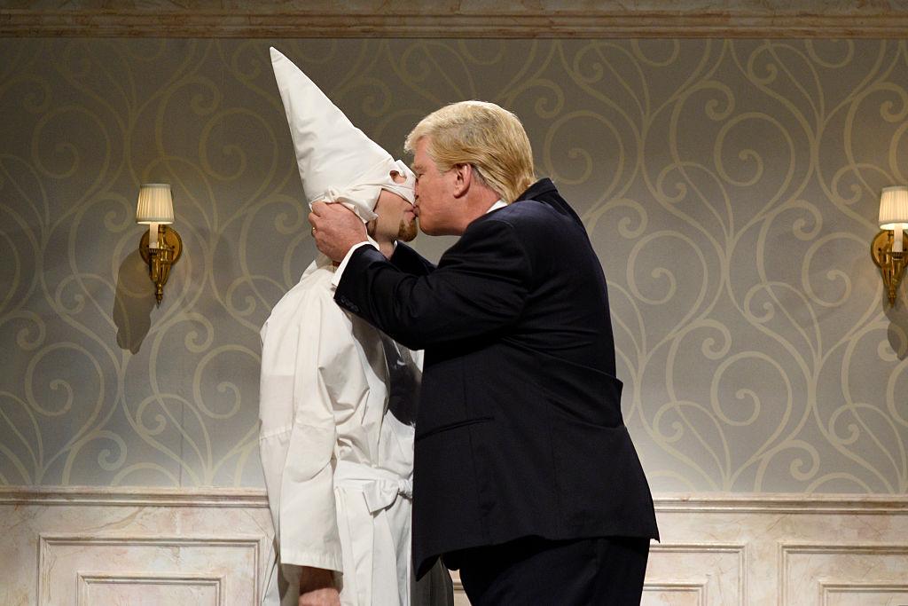 So Feiert Der Ku Klux Klan Den Neuen Us Präsidenten Donald Trump