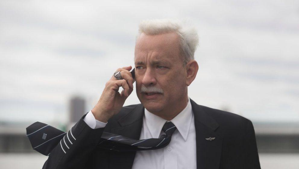 This image released by Warner Bros. Pictures shows Tom Hanks in a scene from the film, 'Sully.' The movie opens in U.S. theat