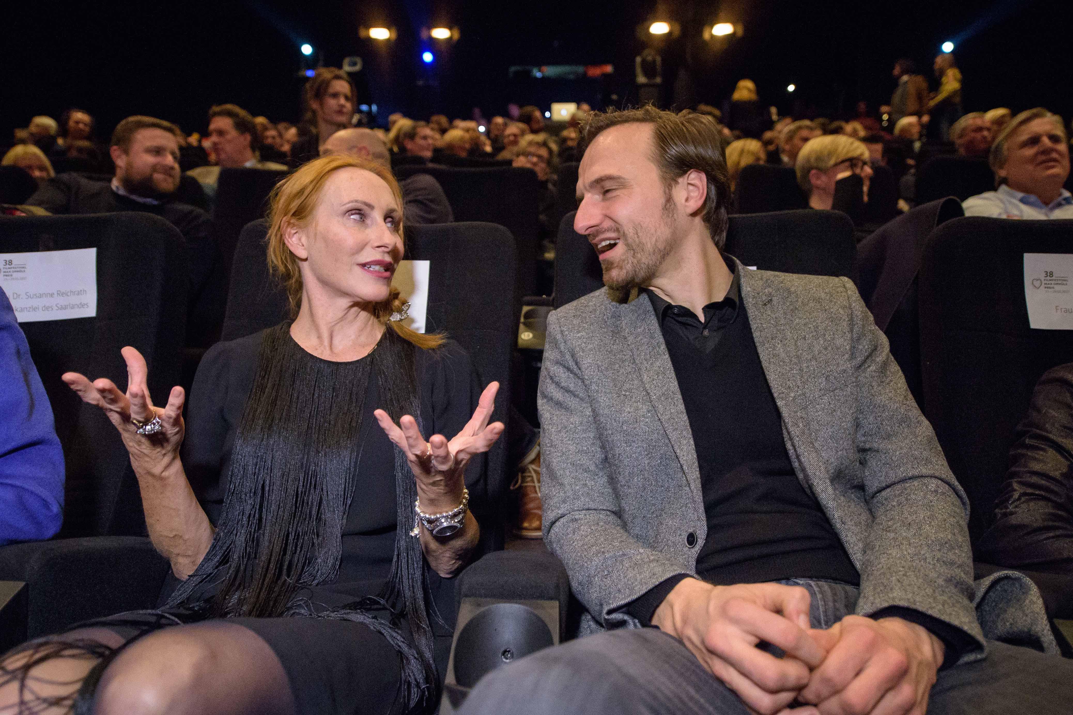 Die Jury-Mitglieder Andrea Sawatzki und Stephan Richter