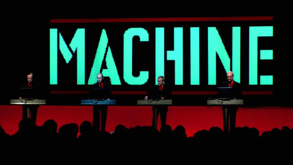 Kraftwerk live auf ihrer 3D-Tour