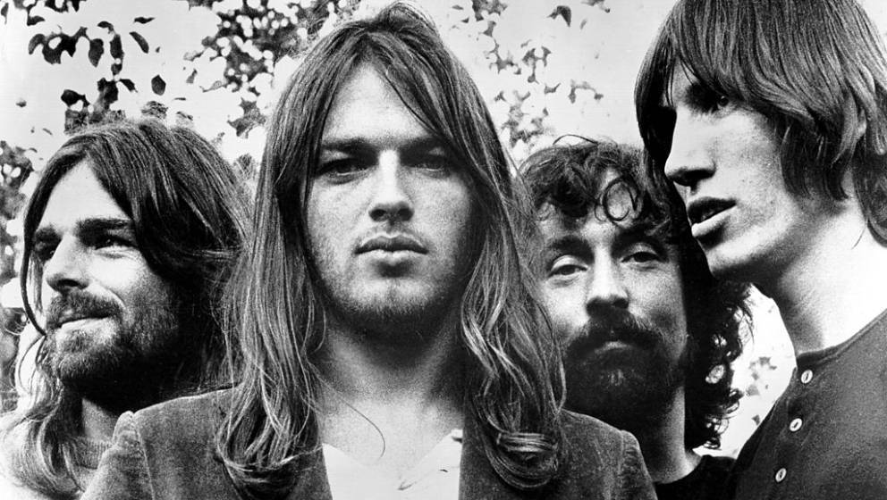 UNITED KINGDOM - CIRCA 1973: Pink Floyd, (L-R; Rick Wright, Dave Gilmour, Nick Mason and Roger Waters) pose for a publicity s