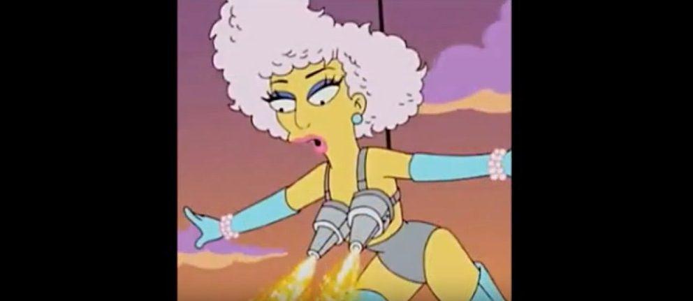 Lady Gaga Simpsons Super Bowl