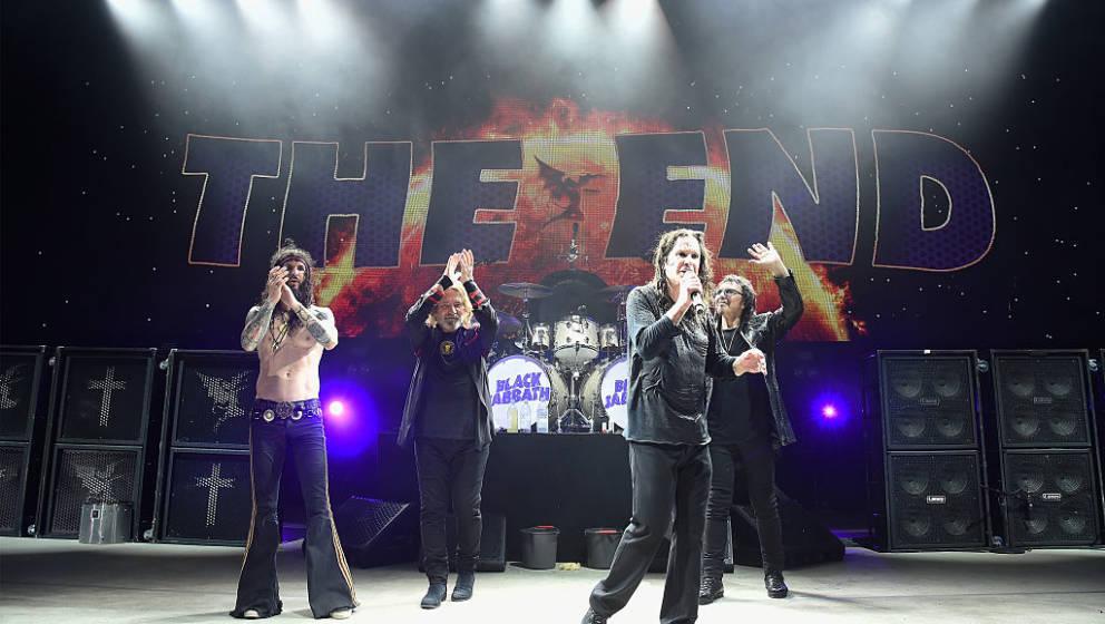 Am Samstagabend (4.Febraur) gaben Black Sabbath ihr Abschiedskonzert in Birmingham. Und damit an dem Ort ihrer Bandgründung im Jahr 1968.