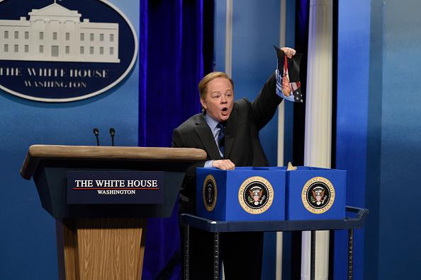 """Melissa McCarthey hat in der Sendung """"Saturday Night Live"""" Sean Spicer parodiert. Der findet das, wie er nun sagt, gemein."""