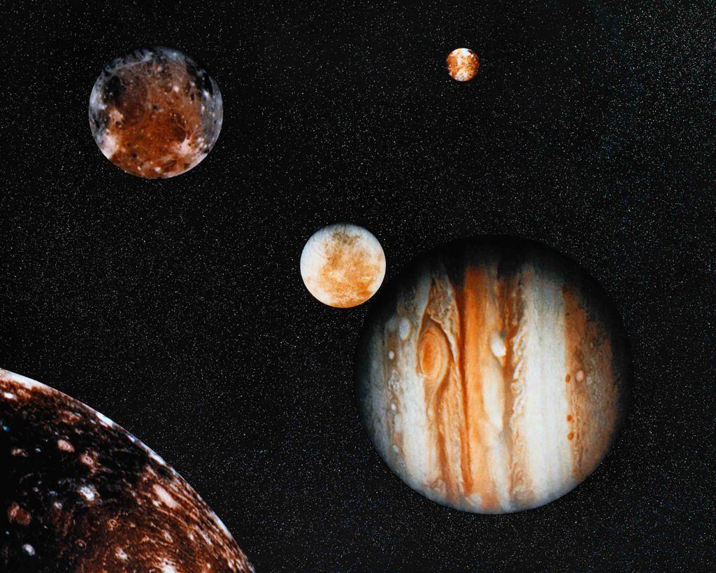 moon jupiter saturn aligned - HD1024×819