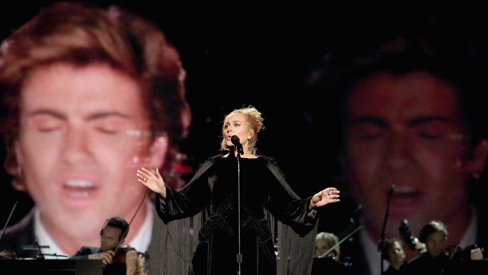 Adele singt in Erinnerung an George Michael bei den Grammys 2017