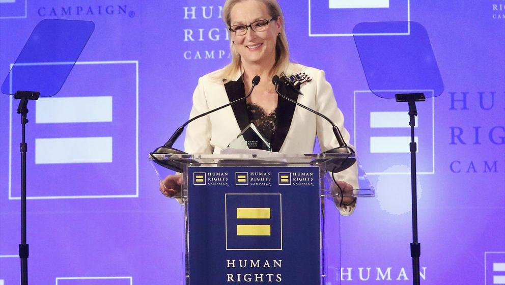 Meryl Streep nimmt Donald Trumps Gehässigkeiten mit Humor