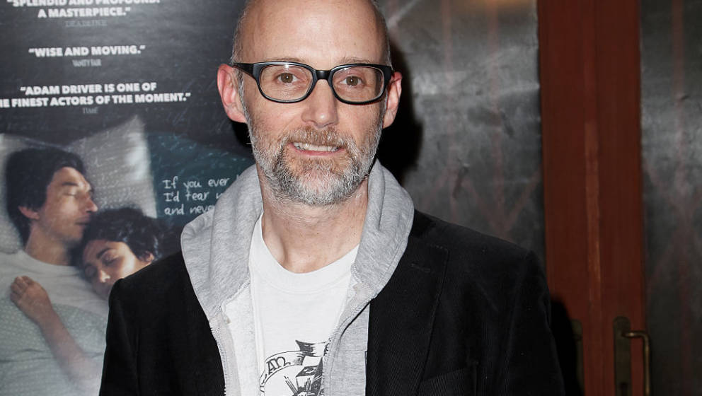 LOS ANGELES, CA - DECEMBER 06:  Moby attends the Screening of Amazon Studios 'Paterson' at the Vista Theatre on December 6, 2