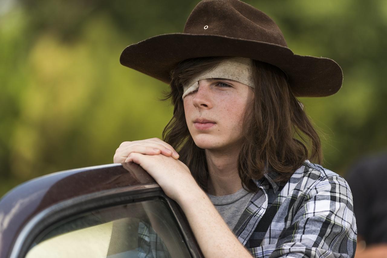 The Walking Dead Carl Grimes Schockt Sie Alle