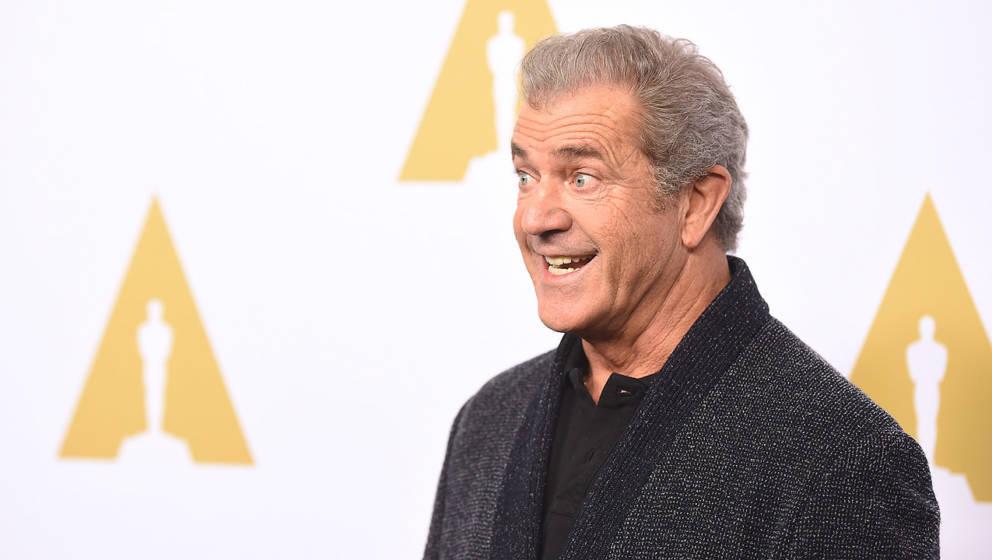 Macht mit seinem breiten Grinsen dem Joker Konkurrenz: Mel Gibson