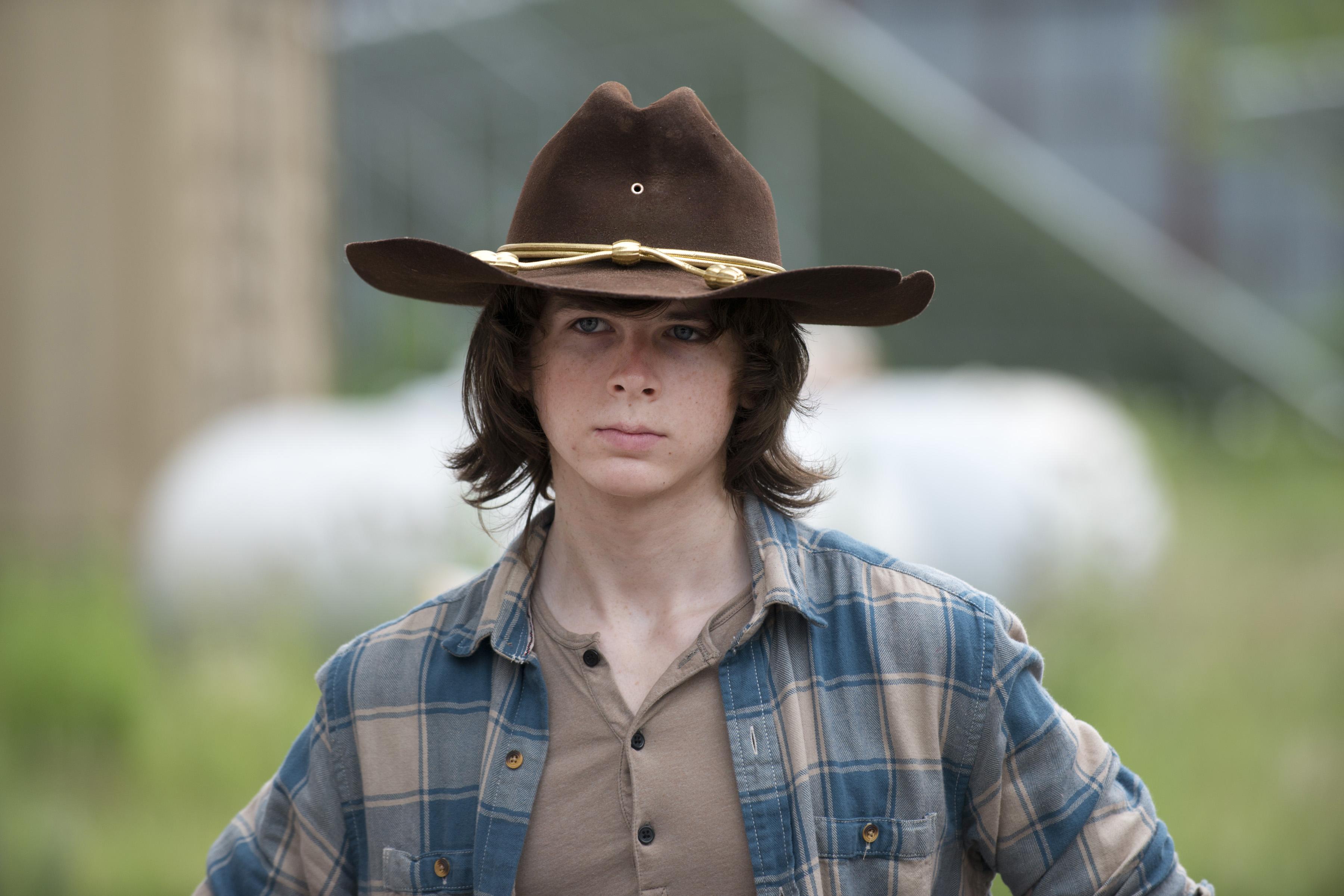 The Walking Dead Wird Carl Zombie Grimes Jetzt Popstar Hier Hören