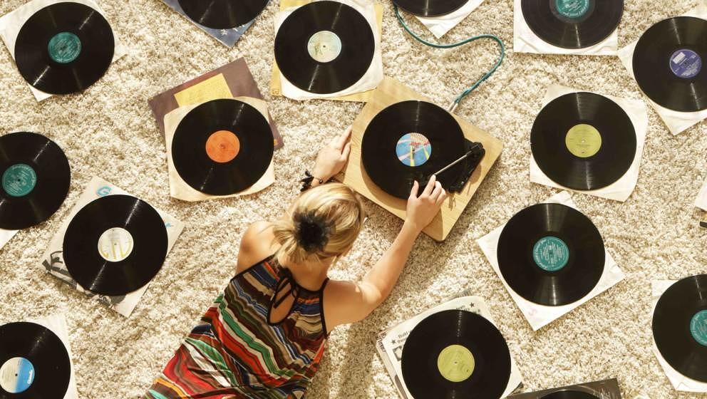 Schallplatten liegen weiterhin im Trend